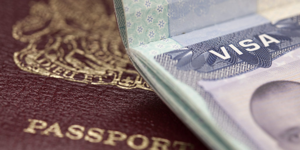passport and visa